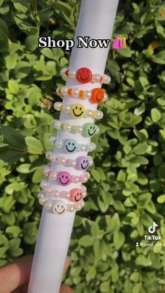 Diy Beaded Rings, Diy Jewelry Rings, Diy Jewelry Unique, Handmade Wire Jewelry, Diy Crafts Jewelry, Bracelet Crafts, Bead Jewellery, Beaded Jewelry Designs, Diy Bracelets Patterns