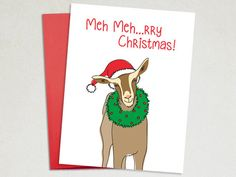Holiday Card - Meh-rry Christmas – The Imagination Spot