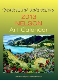 Art Calendar, Galleries, Cover