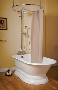 All About Clawfoot Tub Showers Clawfoot tub shower Tubs and Third
