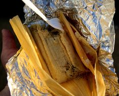 Authentic Mexican Pork Tamale Recipe - looks like some work, but probably worth it!!  1) Prep pork, 2) Prep chili peppers, 3) Prep husks, 4) Make chili pork mix, 5) Prep mesa, 6) stuff them babies, 7) steam tamales!, 8) FEAST!