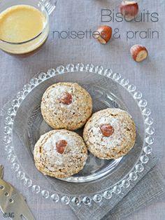 Biscuits aux noisettes pralin façon amaretti