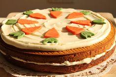 yummy muffin: Mrkvový dort s příchutí exotiky. A bez oleje!