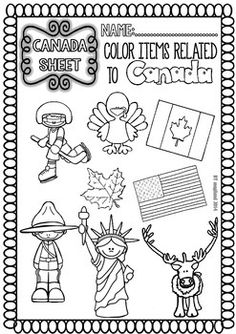 CANADA ( READY TO PRINT EASY READINGS AND WORKSHEETS