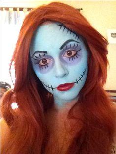 sally nightmare before christmas makeup tutorials - Google Search ...