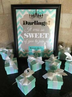 Check out this item in my Etsy shop https://www.etsy.com/listing/222830619/tiffany-co-inspired-print-thank-you-sign