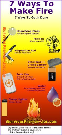 7 Survival Hacks Begin A Hearth. ** Find out even more by checking out the picture link