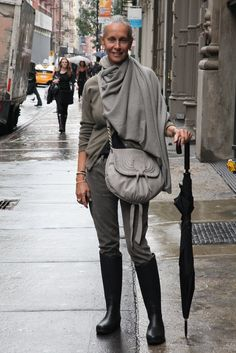 Rainy Day In NYC | Linda V Wright