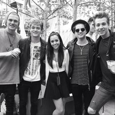 The Vamps & Megan Nicole