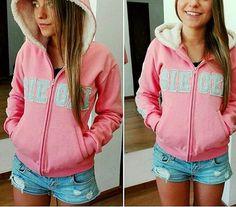 Outfits Juvenil, Adidas Jacket, Hooded Jacket, Hoodies, Sweaters, Jackets, School, Ideas, Fashion
