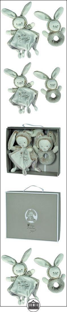 Nicotoy - lote de regalo para bebé de sonajero/mini peluche Laline Nature  ✿ Regalos para recién nacidos - Bebes ✿ ▬► Ver oferta: http://comprar.io/goto/B01IMTL0JU