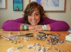 IF YOU EVER HOPE HOPE TO START A JEWELRY BUSINESS< YOU NEED TO PIN THIS!!!  Quit Your Day Job: HappyGoLicky on Etsy. See how jewelry artist, Melissa Drake, took the leap of faith to start her own business. VERY GOOD INFORMATION!
