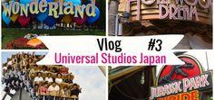 Universal Studios Japan [3] :Hollywood dream, Jurrassic Park, Wonderland