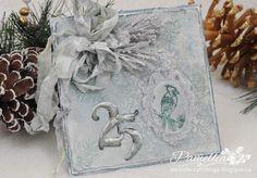 My Little Craft Things: Winterfresh Christmas Card & Pine Branch Tutorial