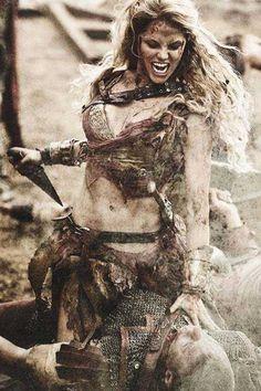 Xena Warrior Princess, Warrior Girl, Fantasy Warrior, Fantasy Girl, Warrior Women, Viking Warrior Woman, Greek Warrior, Vikings, Character Inspiration