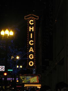 DONE.Chicago THEATRE. My husband & I have a great picture in front of this sign. good memories.