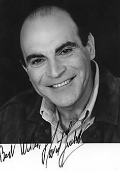 David Suchet is an English actor best known for his television portrayal of Agatha Christie's Hercule Poirot in the television series Agatha Christie's Poirot.