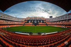 Actual Estadio de Mestalla (Año: 2014)