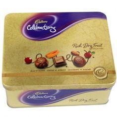 В Англии производится очень хороший шоколад, как бы его не критиковали немцы и швейцарцы. Коробка английского шоколада Cadbury за 3-7 фунтов