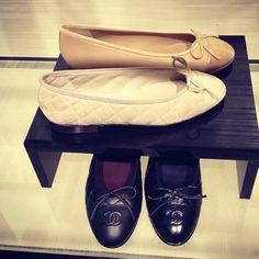 Chanel Ballet Flats. I want. Ballerina Flats, Chanel Ballet Flats, Ballerinas, Style Inspiration, Classic, Shoes, Fashion, Derby, Moda