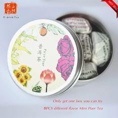 Mini Chinese Pu er Tea ,Yunnan food Pu'er tea traditional green Tuocha Cooked puerh tea For loose weight