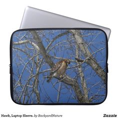 Hawk, Laptop Sleeve. Laptop Sleeves