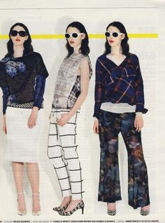 Grunge is back! // Dries Van Noten by Linda Farrow Gallery
