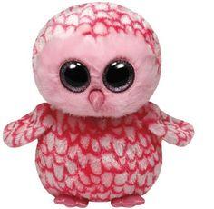Ty Beanie Boos Pinky - Pink Barn Owl Medium Plush by Ty, http://www.amazon.com/dp/B00CM6Y1ZK/ref=cm_sw_r_pi_dp_bGqusb050BVA3