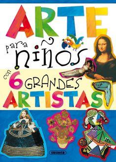 y así hasta seis grandes… Painting For Kids, Art For Kids, Art Espagnole, Famous Artists Paintings, Arte Van Gogh, Kids Class, Preschool Art, Elements Of Art, Mail Art