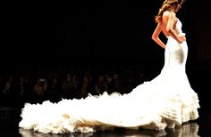 crazy but awesome. not sure if this is a flamenco dress or a wedding dress, but me loves just the same :)