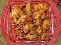 Murgir Jhal Roast (Spicy Chicken Roast)