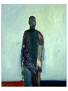 "Nathan Oliviera. ""Man walking""."