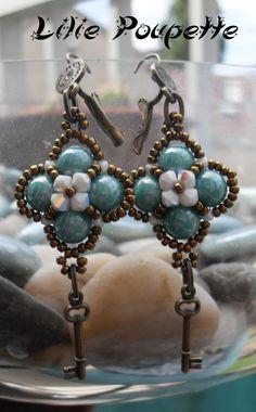 Earrings Lilie-Poupette