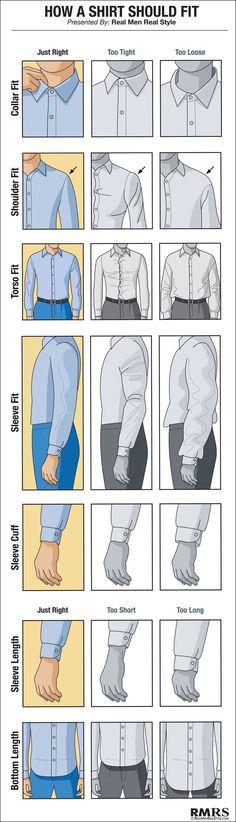 Como llevar la camisa hay que saber vestir