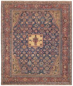 Antique Persian Rug -  Room Size Sultanabad