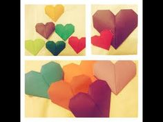3d origami heart instructions - origami news and tips