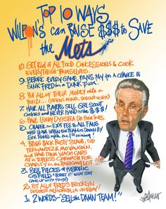 Top 10 Ways Wilpons can Raise $$$ to save the Mets