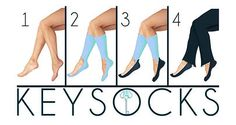 KEYSOCKS | Shop.  Socks to wear with flats or heels without looking dorky.