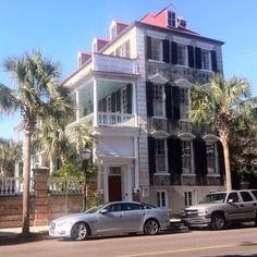 Charleston. Good ol' Southern architecture I <3