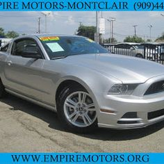 Have always dreamed of driving one the finest Pony cars but thought you couldn't afford it or it's not for you? Think again. #EmpireMotors is offering this 2014 Ford Mustang with Automatic Transmission and more... for a price you could afford and we can help you get in it TODAY!!! Offering financing option that easily fit most budget, so don't just look around. Call us at 909 447 6777 or simply visit our website: www,empiremotors.org and apply online for a quick APPROVAL!!!! #ford…