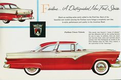 Ad for the 1955 Fairlane Crown Victoria
