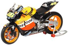 New Jay Miniatur Modell Yamaha MotoGP Bike VR46 Valentinio Rossi 1:12