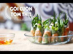 Gỏi cuốn tôm thịt | Món ngon mỗi ngày | Shrimp rolls | Vietnamese cuisin...