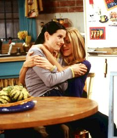 greatest friendship of all time FRIENDS @Bri Turpin Cherven we are monica and rachel!!!