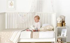 This classic blue nursery is for you who want to design and decor the nursery in the classic way. Have a look!