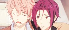 """Kisumi:""""You won't believe what happened to m-"""" Rin:""""HARU!"""" *Rin steps out of the way* *Kisumi is betrayed a second time*"""