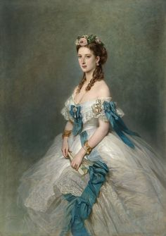 Alexandra of Denmark, Princess of Wales by Franz Xaver Winterhalter, 1864