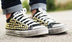 converse borchiate outfit fashion blogger
