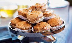 Muffins de maçã para levar no cesto de piquenique ou para fazer num instante para o lanche - só 35 minutos.