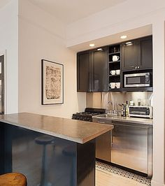 Small Condo Kitchen, Apartment Kitchen, Open Kitchen, Kitchen